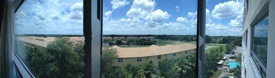 The Westin Lake Mary: Panorama view from room. 5th floor.