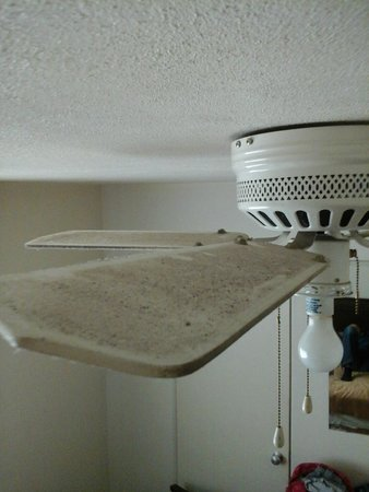 Redford Motel & R.V. Campground: Ceiling Fan