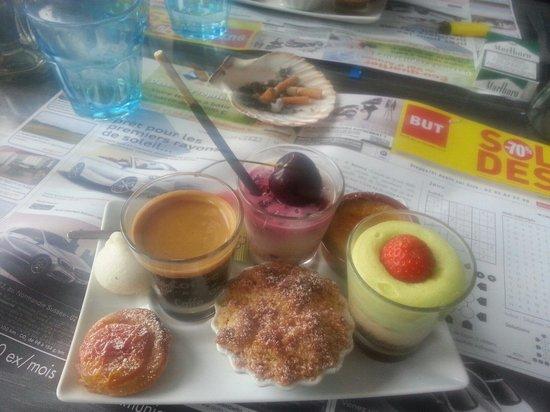 Le Café Suisse : Café gourmand très gourmand !
