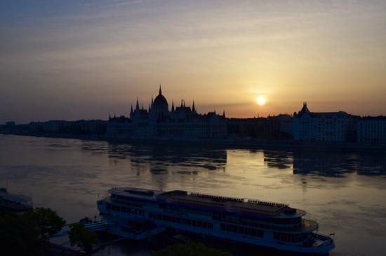 art'otel budapest: Danube Dawn