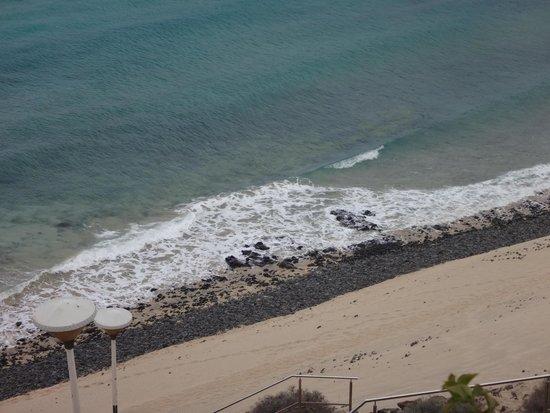 SBH Club Paraiso Playa: pas de réelle plage.