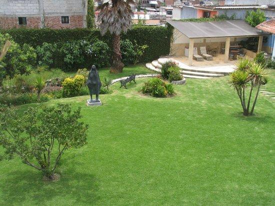 Kukurutz Residencia : Jardin