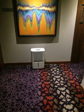 Hard Rock Hotel Panama Megapolis: Noisy dehumidifier