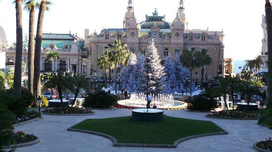 Casino of Monte-Carlo : Plaza y Casino Montecarlo