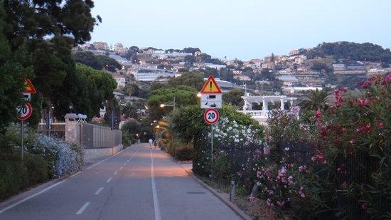 Pista Ciclabile Area 24 - Sanremo: Велотрасса