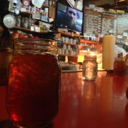 Sweet Tea at Abe's Grill