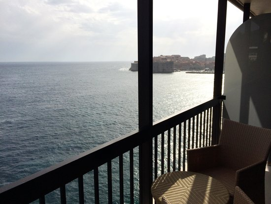 Hotel Excelsior Dubrovnik: Beautiful balcony view
