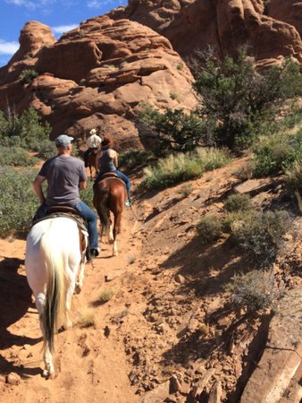 MH Cowboy - Day Tours: In the canyon