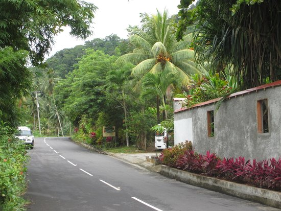 Hibiscus Valley Inn : Hotel from main road
