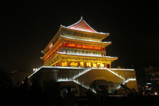 Days Inn City Centre Xian : Drum Tower at Night