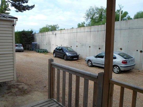 Camping Club Le Littoral : la vue de la terrasse