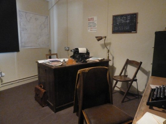 Bletchley Park: Room set up