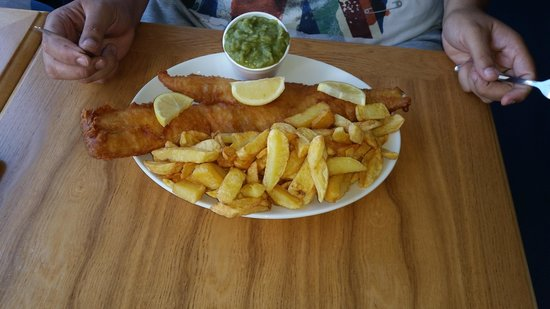C Fresh Fish and Chips: That's a fish!!