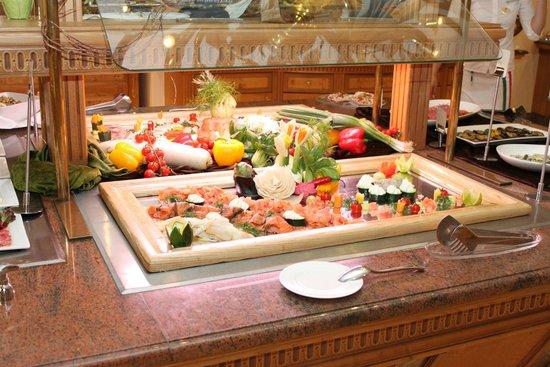 Hotel Mooshof: Buffet zum Abendessen
