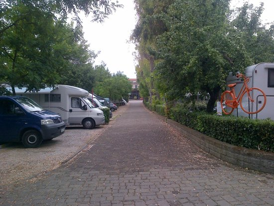 Camping Village Roma : alley