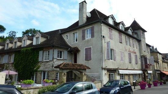 Le Beaulieu : l'hôtel en façade