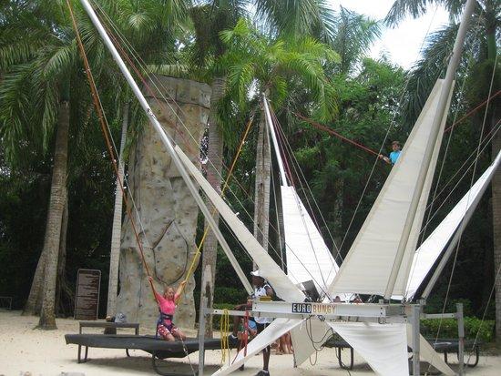 The Reserve at Paradisus Punta Cana: Trempoline à Adventure park