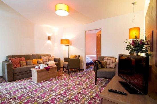 Hotel Bannwaldsee: Suite (Wohnbereich)