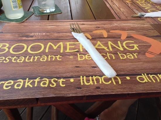 boomerang beach bar