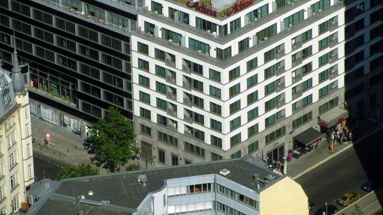 Adina Apartment Hotel Berlin Hackescher Markt: Adina from the TV Tower