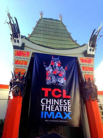TCL Chinese Theatres : TCL entrance