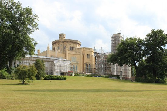 Babelsberg Castle : Restoration, but beautiful grounds