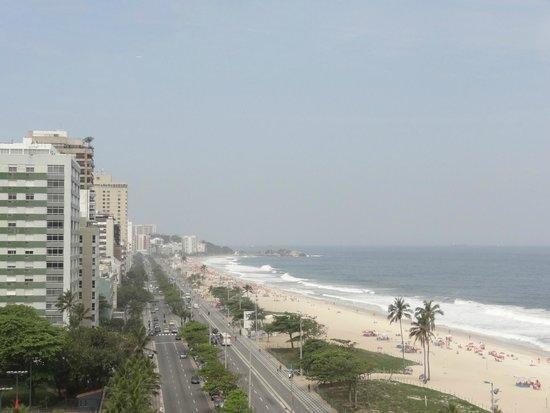 Praia Ipanema Hotel: vista de la ciudad desde mi balcon,perfecta!!!