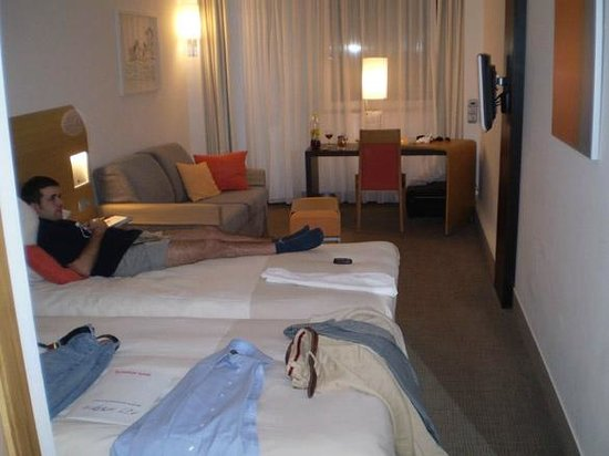 Novotel Budapest City: room