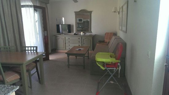 HD Parque Cristobal Gran Canaria: nuestra habitación....