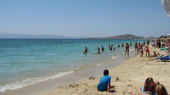 Agia Anna Beach: The beach