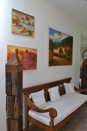 Hotel Refugio de Montana : Art decoration