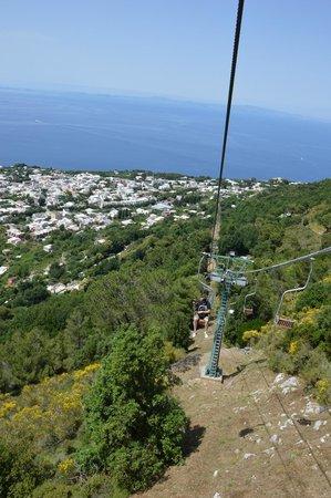Mount Solaro: la montée
