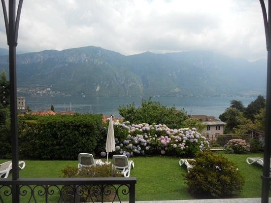 Hotel Belvedere Bellagio: view of lake Como from room 607
