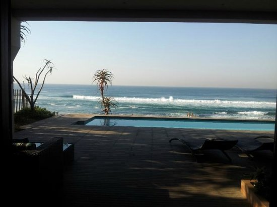 Canelands Beach Club and Spa: view from lounge...