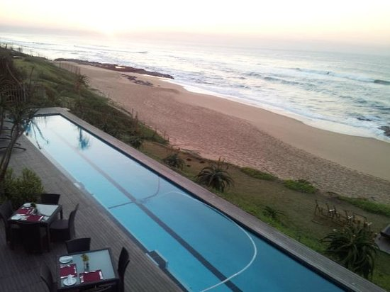 Canelands Beach Club and Spa: view from 1st floor