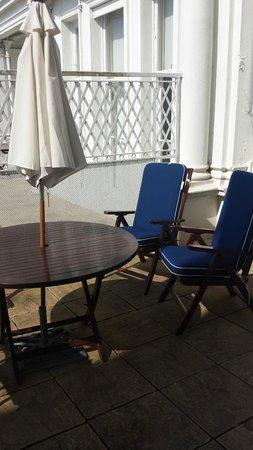 The Grand Hotel Eastbourne: Balcony