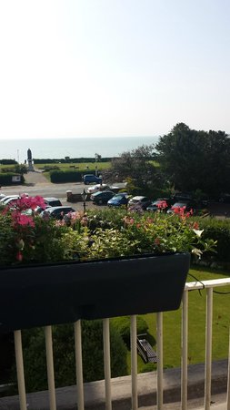 The Grand Hotel Eastbourne: View from balcony