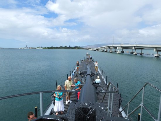 USS Bowfin Submarine Museum & Park: Above Deck..!