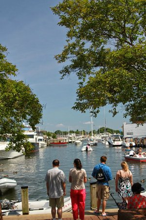Capital City Colonials: The dock in Annapolis