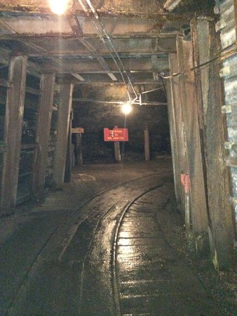 Lackawanna Coal Mine Tour: inside the mine