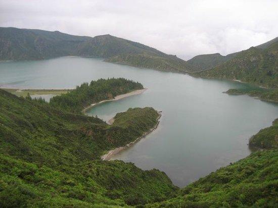 Lagoa do Fogo: desde el Mirador