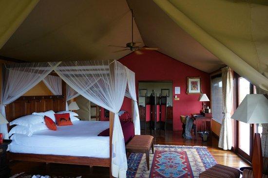 Olare Mara Kempinski Masai Mara: Our tent
