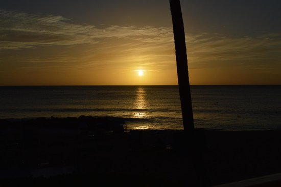 Crystal Cove by Elegant Hotels: Sunset from our room.