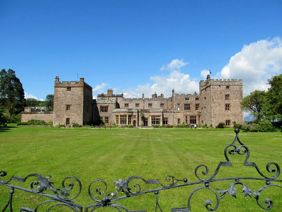 Muncaster Castle: The Lawns