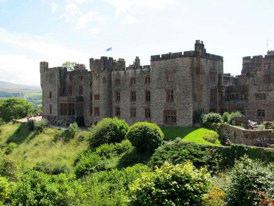 Muncaster Castle: View of Castle