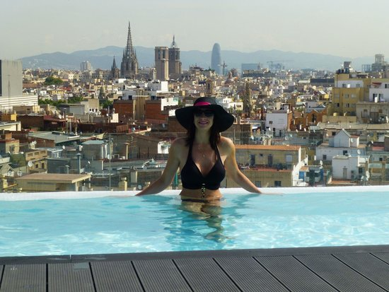 Andante: view from roof top pool