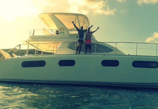 Private Yacht Charter SXM : Fantastic day!!