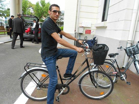 Hôtel Barrière L'Hermitage La Baule : ballade à vélo