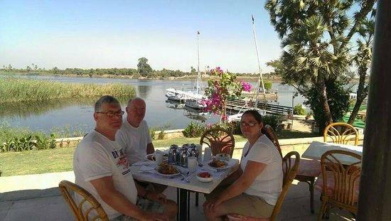 Maritim Jolie Ville Kings Island Luxor : Breakfast terrace