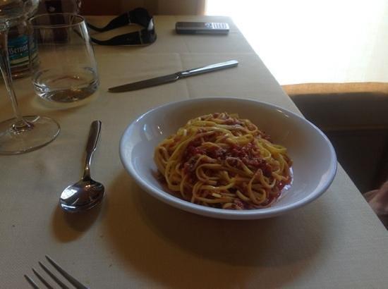 Taverna San Martino: tagliolini al ragu'